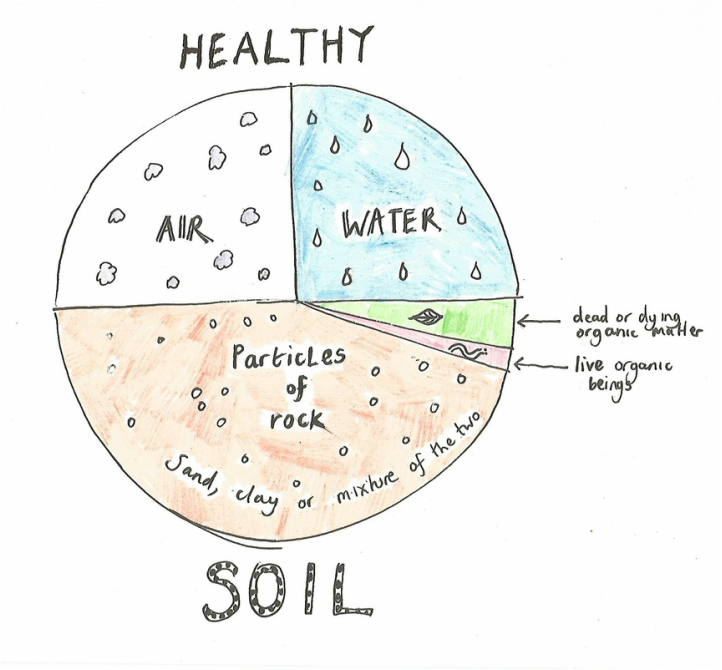 3 the earth element regenerating depleted soil for What 5 materials make up soil